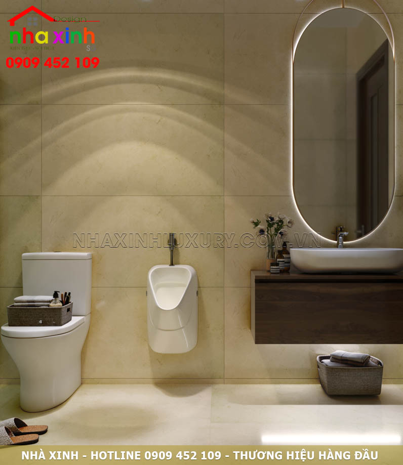 WC tầng trệt