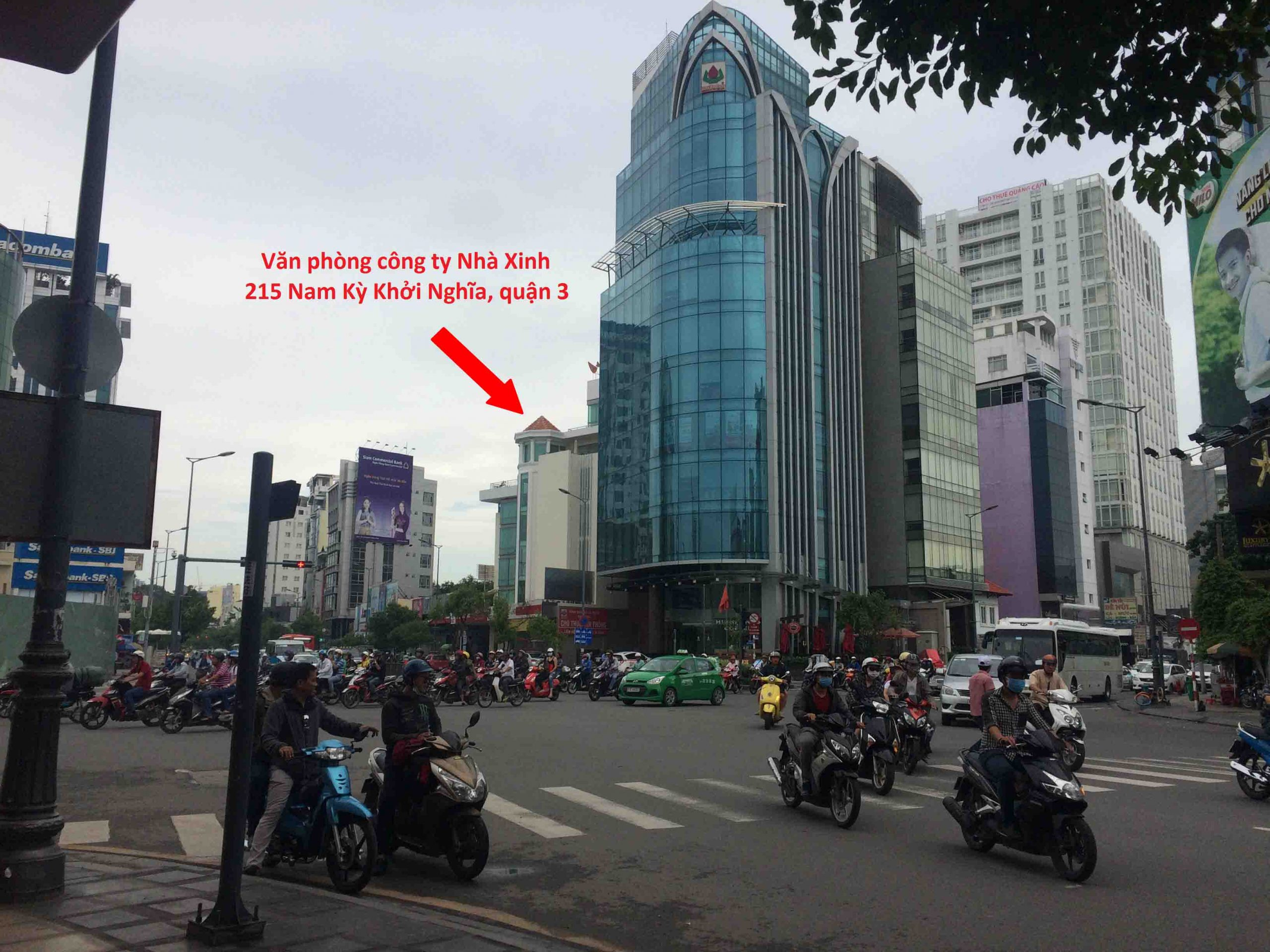 Chỉ đường Nhà Xinh