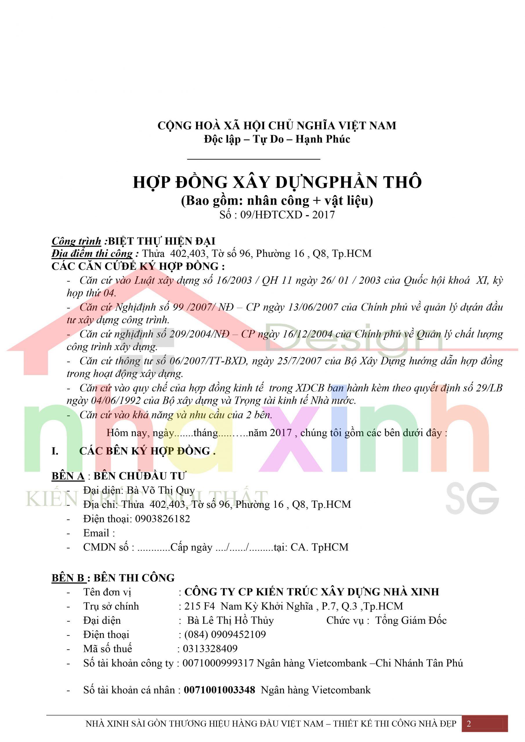 Mẫu hợp đồng phần thô Nhà Xinh 2 scaled
