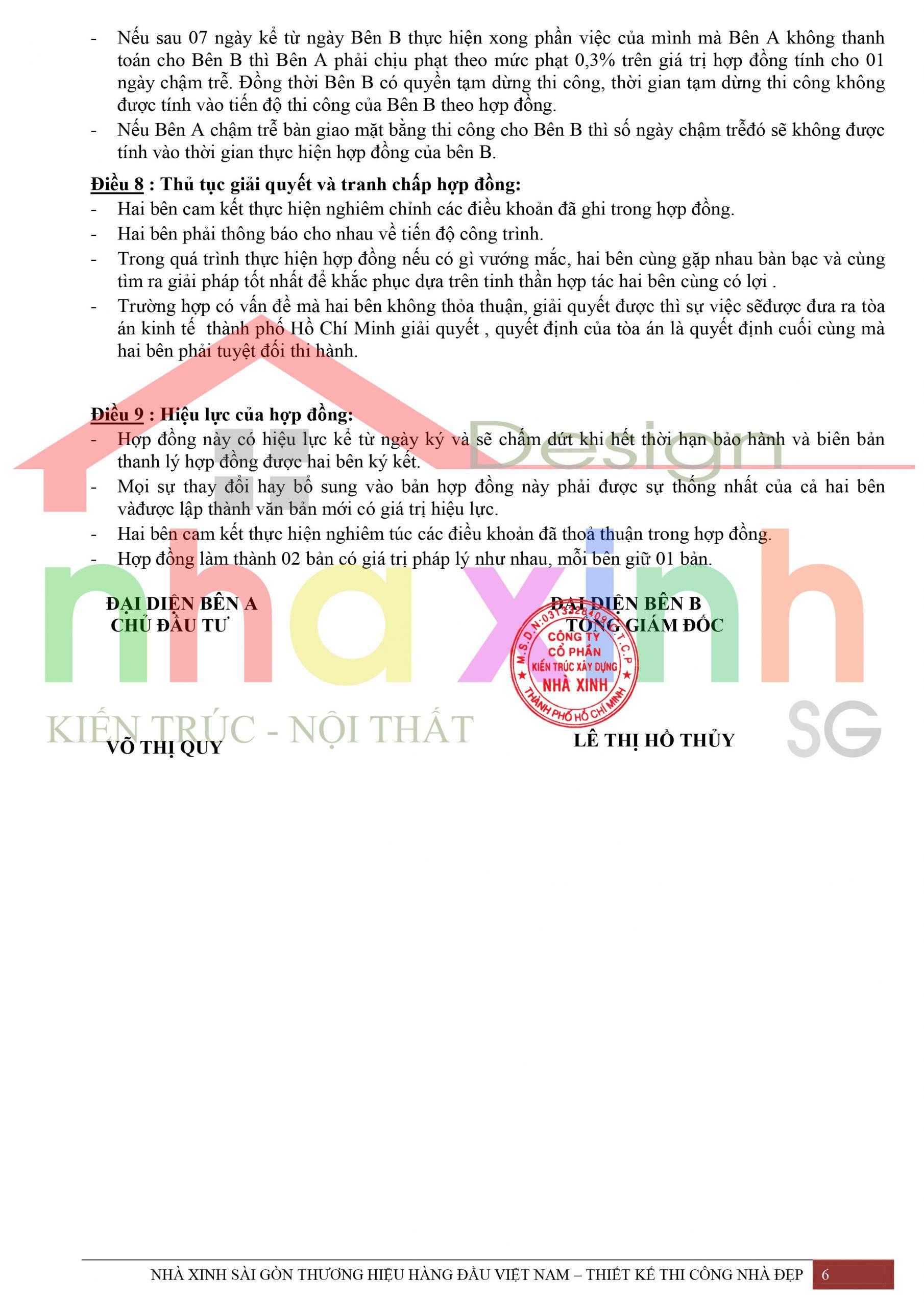 Mẫu hợp đồng phần thô Nhà Xinh 6 scaled