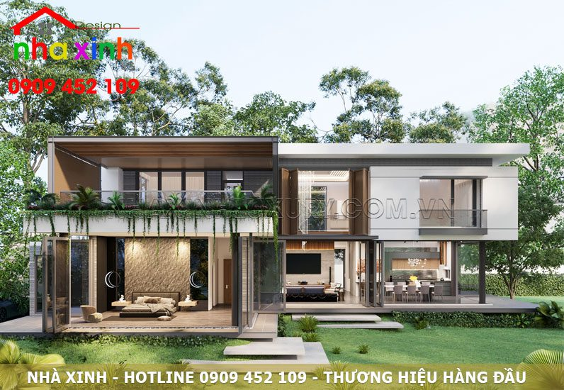 Thiết kế kiến trúc với không gian xanh